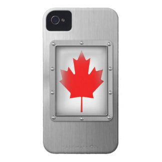 Canada in Stainless Steel iPhone 4 Covers