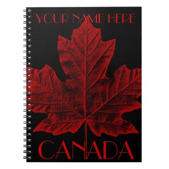 Canada Journal Custom Canada Souvenir Notebooks