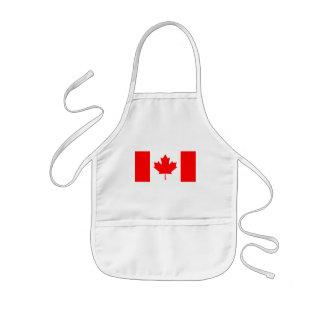 canada kids apron