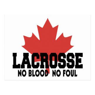 Canada Lacrosse Canadian Postcard