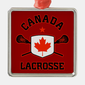 Canada Lacrosse Ornament