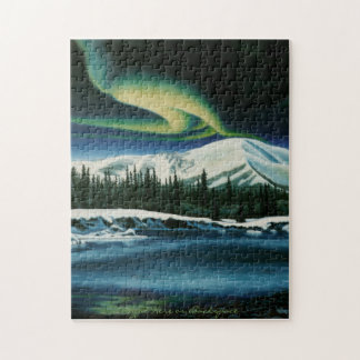 Canada Landscape Puzzle Northern Lights Puzzle