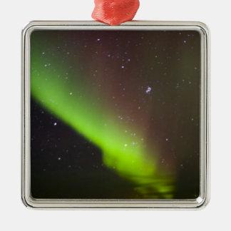 Canada, Manitoba, Churchill. Aurora Borealis Christmas Ornament