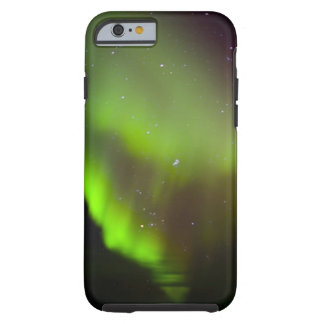 Canada, Manitoba, Churchill. Aurora Borealis in Tough iPhone 6 Case