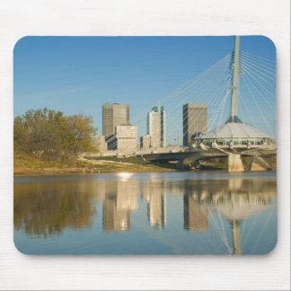 CANADA, Manitoba, Winnipeg: Esplanade Riel 2 Mouse Mat