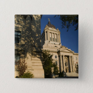 Canada, Manitoba, Winnipeg: Manitoba Legislative 15 Cm Square Badge