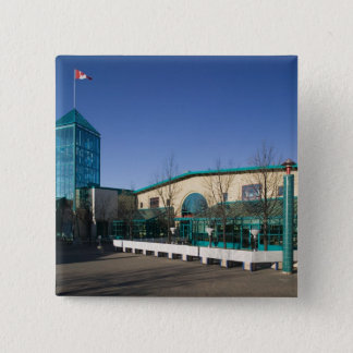 CANADA, Manitoba, Winnipeg: The Forks Market 15 Cm Square Badge