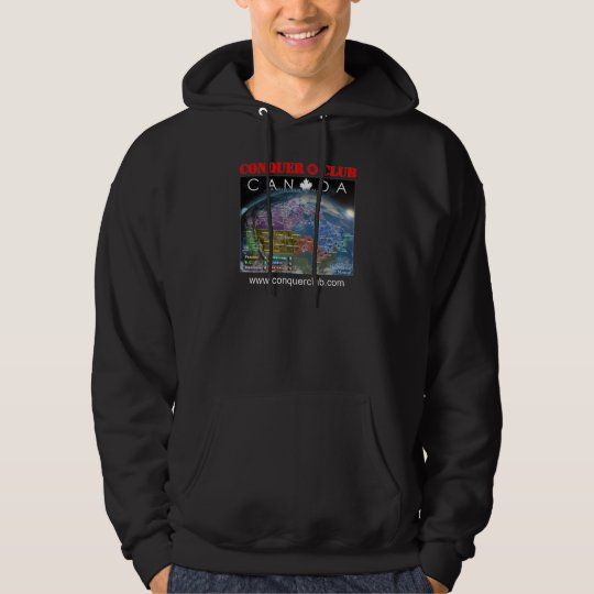 Canada Map Hoodie