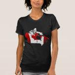 Canada: Map Tshirt