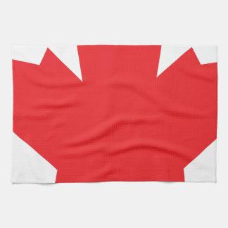Canada Maple Leaf Canadian Symbol Tea Towel