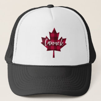 Canada Maple Leaf Canuck Trucker Hat