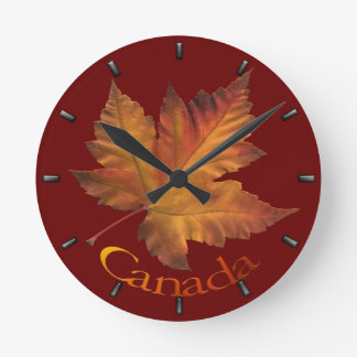 Canada Maple Leaf Clock Canada Souvenir Wall Clock