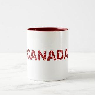 Canada Maple Leaf Coffee Mug