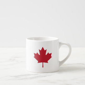 Canada Maple Leaf Espresso Cup