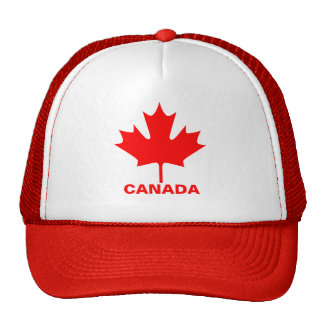 Canada - maple leaf - Hat