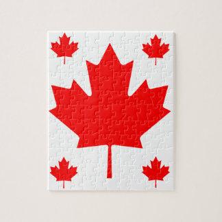 Canada Maple Leaf Jigsaw Puzzle