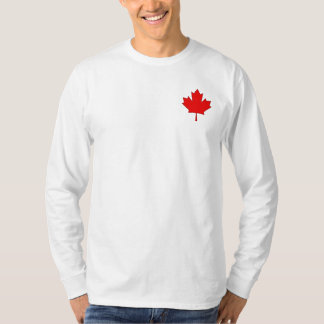Canada Maple Leaf Mens Long Sleeve Shirt