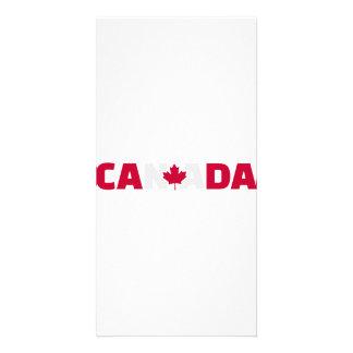 Canada maple leaf photo cards