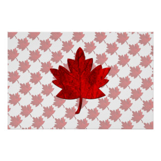 Canada-Maple Leaf Posters