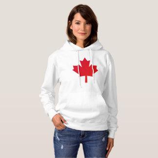 Canada Maple Leaf Red Hoodie