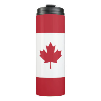 Canada Maple Leaf Red Stripe Tumbler