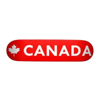 Canada Maple Leaf Skate Deck
