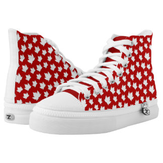 Canada Maple Leaf Sneakers Canada Hightop Runners