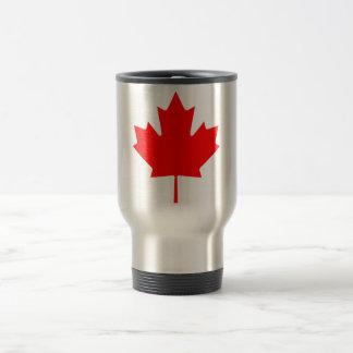 Canada Maple Leaf Stainless Steel Travel Mug