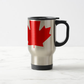 Canada - Maple Leaf Stainless Steel Travel Mug