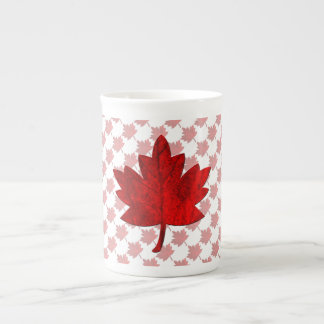 Canada-Maple Leaf Tea Cup