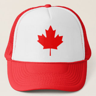Canada Maple Leaf Trucker Hat