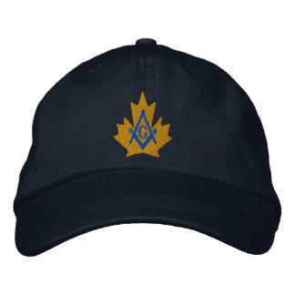 Canada Masonic Embroidered Embroidered Baseball Cap