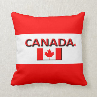 Canada Modern Designer Throw or Lumbar Pillows