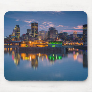 Canada, Montreal, skyline and Old Port Mouse Mat