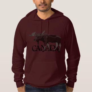 Canada Moose Hoodie Men's Canadian Souvenir Shirt
