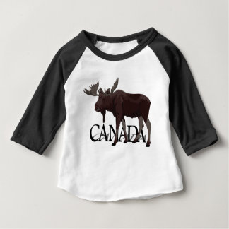 Canada Moose Jersey Canada Souvenir Toddler Shirt