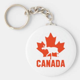 Canada Moose Key Ring