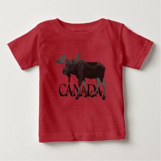 Canada Moose T-shirt Baby Canadian Souvenir Shirt