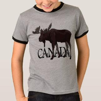 Canada Moose T-shirt Kid's Canadian Souvenir Shirt
