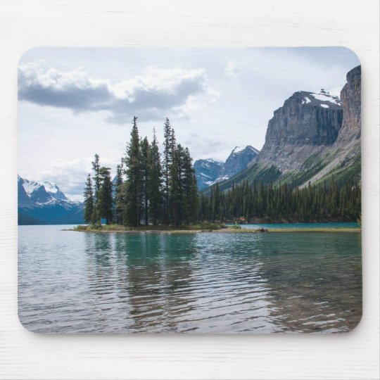 Canada Mouse Pad, Maligne Lake, Canadian Rockies Mouse