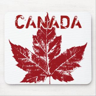 Canada Mousepad Cool Retro Maple Leaf Souvenir