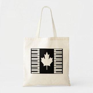 Canada Music Tote Bag