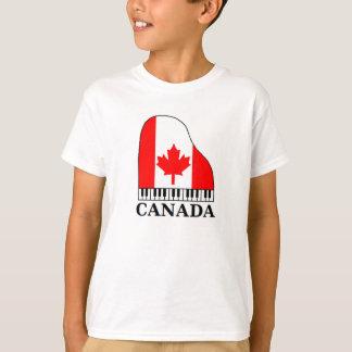 Canada Music T-Shirt Boys