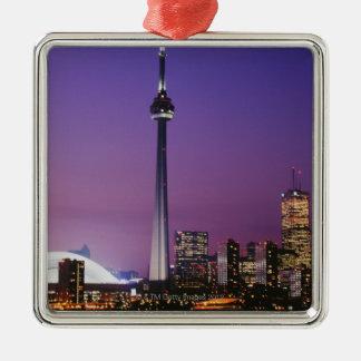 Canada National Tower, Toronto, Canada Christmas Ornament