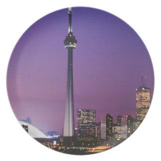 Canada National Tower, Toronto, Canada Dinner Plates