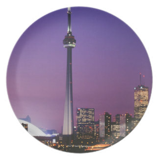 Canada National Tower, Toronto, Canada Plate