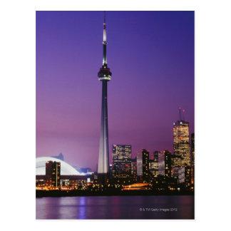 Canada National Tower, Toronto, Canada Postcard