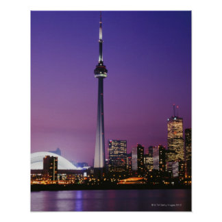 Canada National Tower, Toronto, Canada Poster