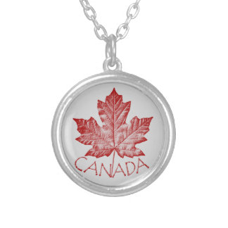 Canada Necklace Retro Canada Souvenir Necklace