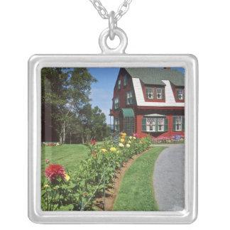 Canada, New Brunswick, Campobello Island. 2 Silver Plated Necklace